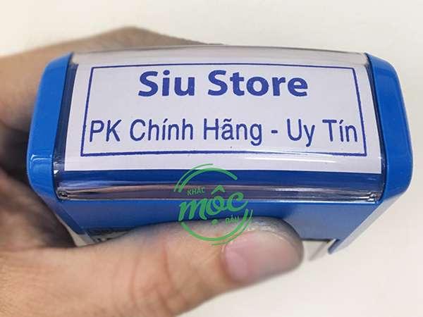 khắc dấu tên cửa hàng shop