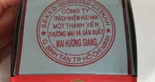 khắc dấu tròn công ty 1 thành viên
